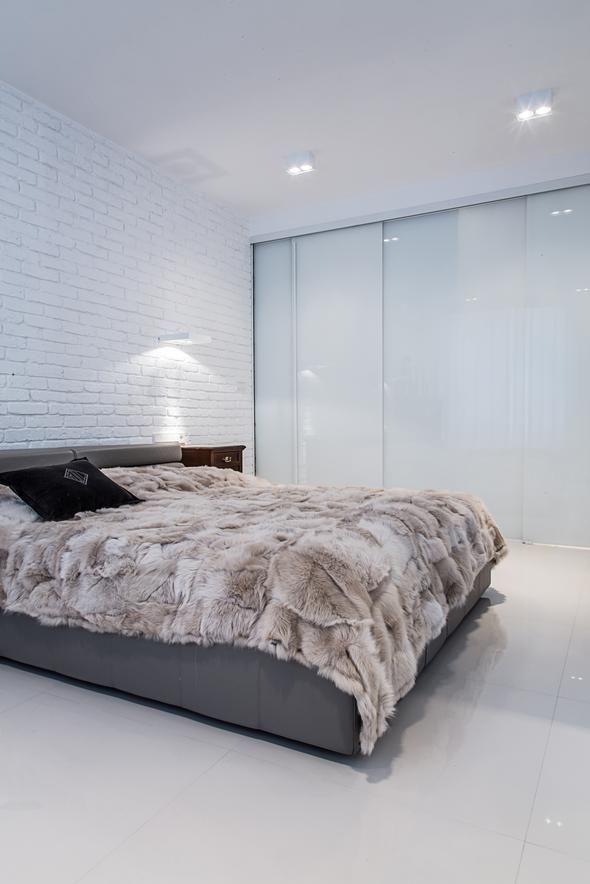 mała nowoczesna sypialnia www.sklep.lika-pelli.pl