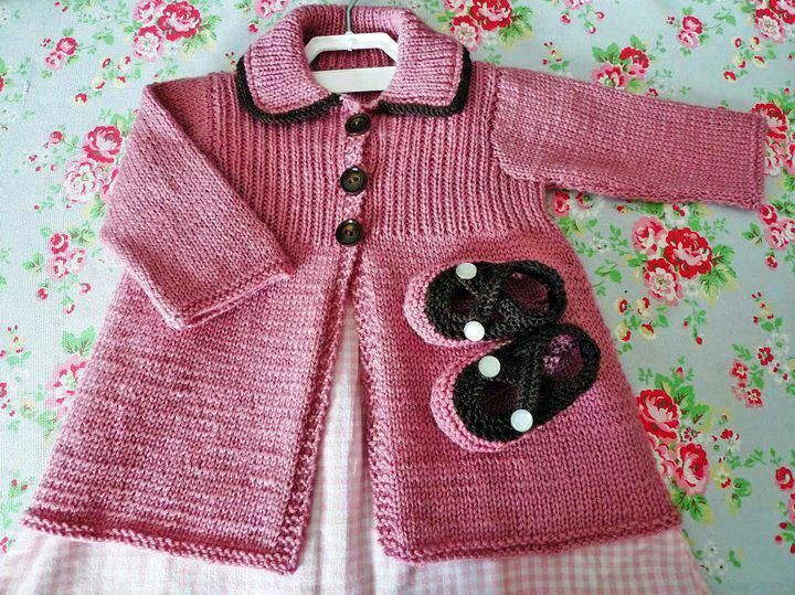 Todo para Crear ... : tejidos para bebe dos agujas Beautiful items on this site - for inspiration only