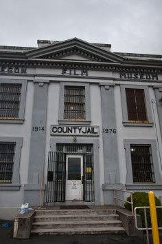 """The Goonies Film Location - Filming Location for """"The Goonies"""" - The County Jail, where the Fratelli's broke out of jail."""
