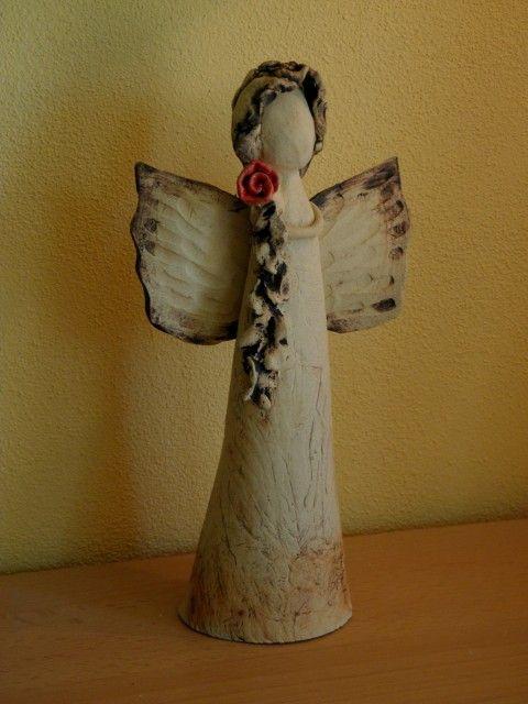 Andělinka Růžička anděl
