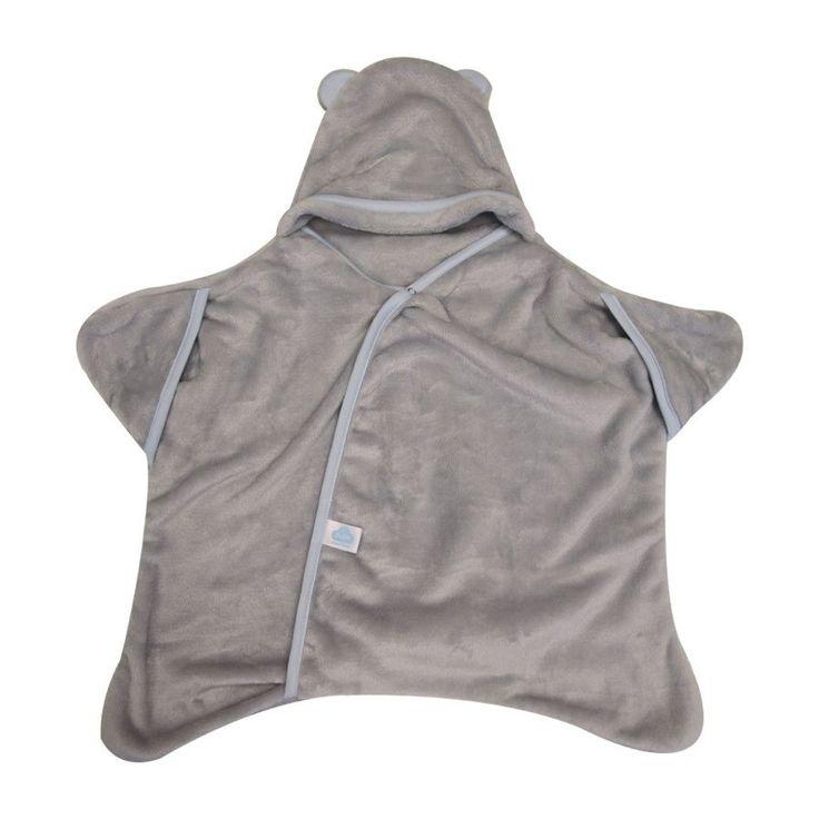 Star Wrap - Grey/Blue - Sleeping Bag - Baby Belle