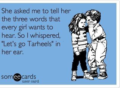 tar heels funny