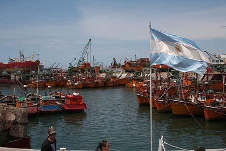 Puerto de  Mar del PLata, Costa Atlantica, Argentina