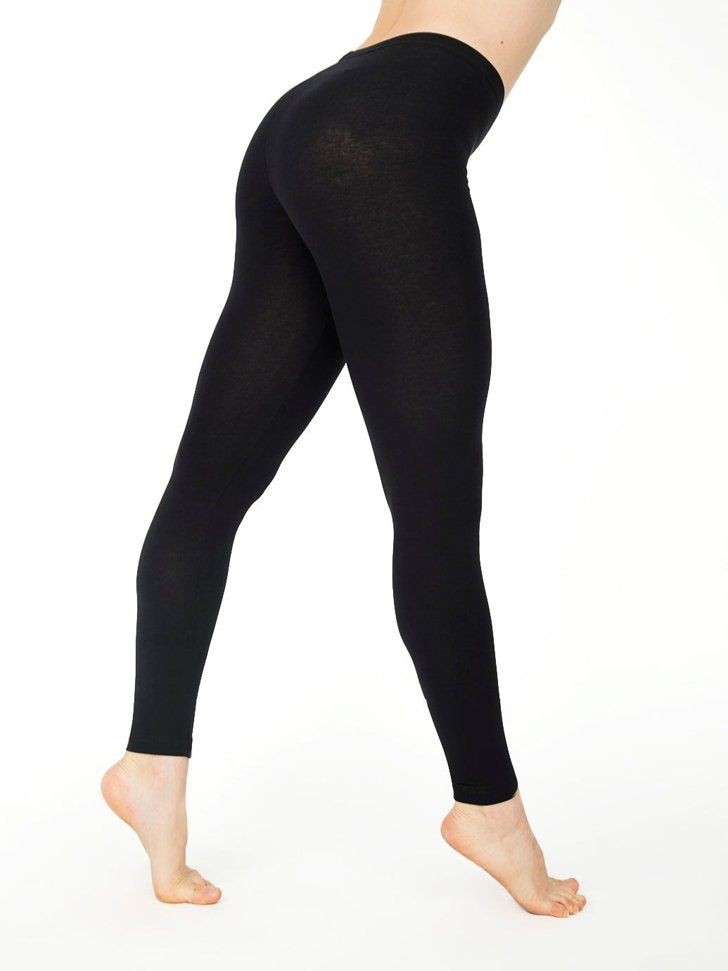 Pin for Later: 15 Iconic Pieces Everyone Owned From American Apparel Leggings Cotton Spandex Jersey Legging ($28)