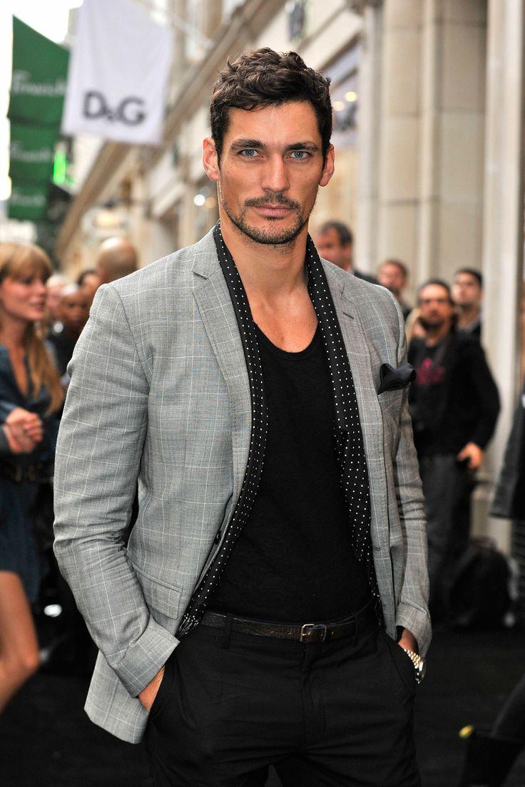 David Gandy- grey blazer | Clothes/ Fashion