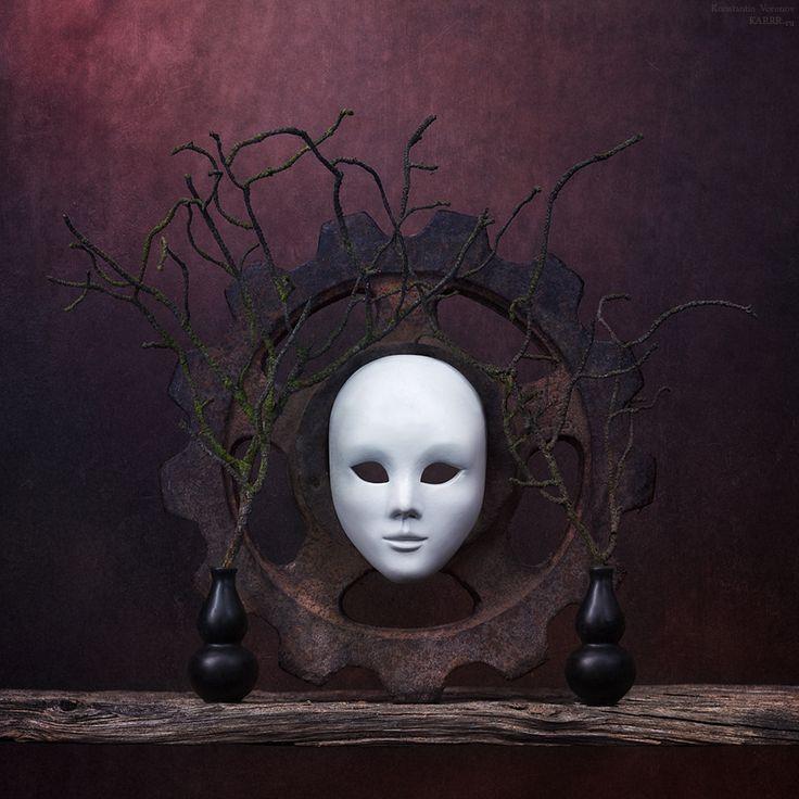 """The mask"" by Konstantin Voronov. °"