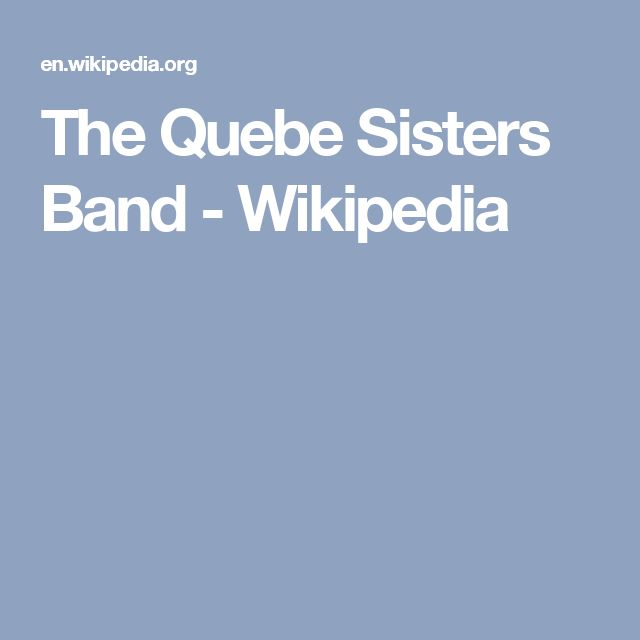 The Quebe Sisters Band - Wikipedia