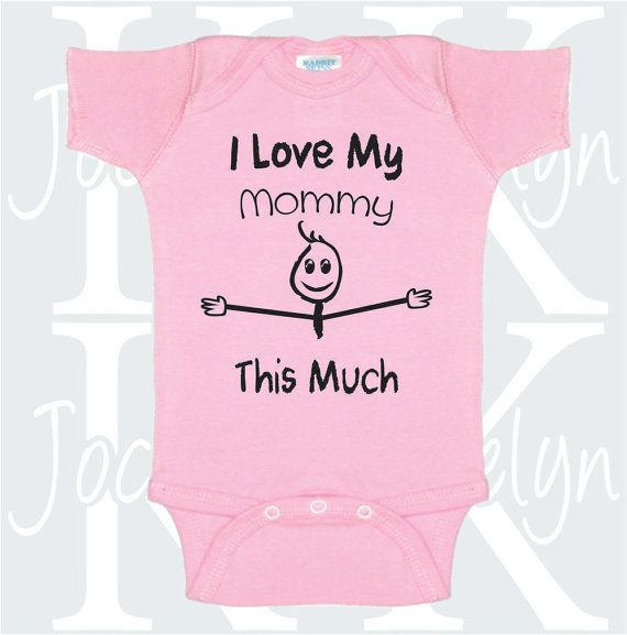 22 best mommy onesies images on pinterest babies clothes baby i love my sister this much personalized one piece body suit onepiece bodysuit baby shower gift sibling brother cute funny aunt toddler negle Gallery