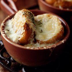 Zupa cebulowa - Przepis