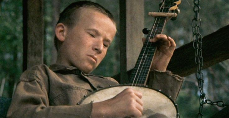 Billy Redden as Lonnie I Deliverance (1972). John Boorman
