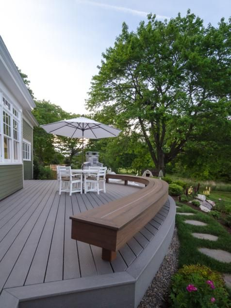 52 Best Deck Bench Images On Pinterest Deck Benches Built In Bench And Deck Pictures