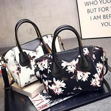 Ladies Hobo Shoulder Bag PU Leather Satchel Cross Body Tote Women Handbag Purse