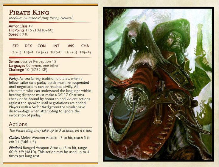 Pirate King for the finale of my current campaign. First attempt at making a…