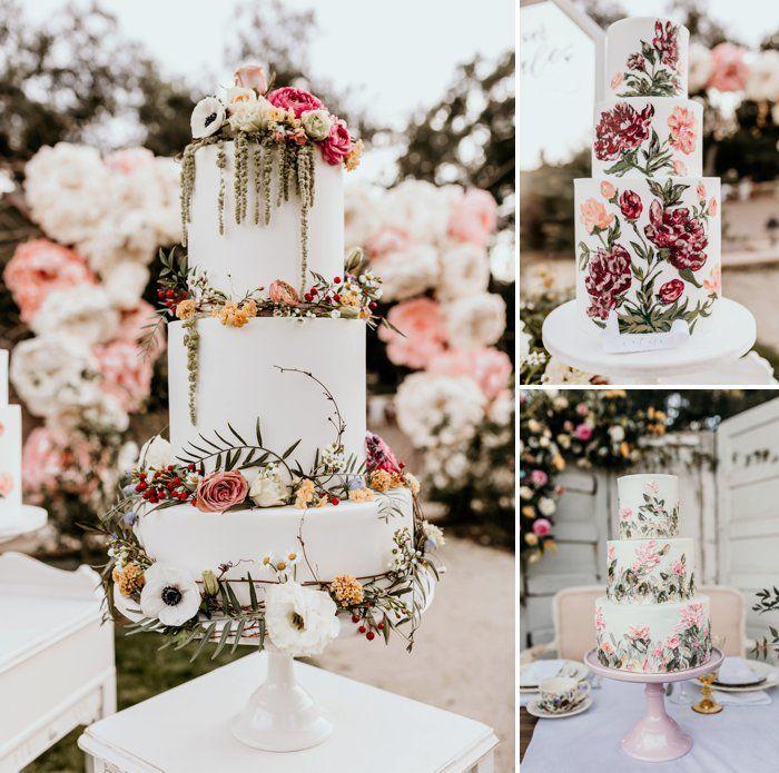 11++ Fairy garden wedding cake ideas
