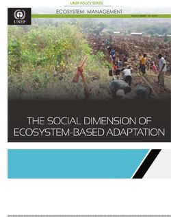 -- Ecosystem Management - United Nations Environment Programme (UNEP) -- > Home