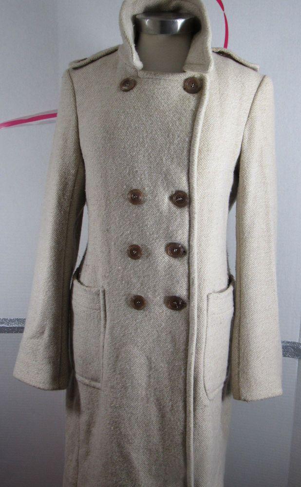 Oat Herringbone Coat | Topshop