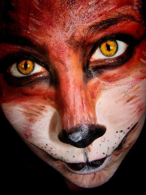 maquillaje de zorro , Buscar con Google