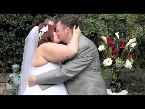 Plus Size Bride Wedding Video To The Music Of Beatles Halloween With Lots Diy Details