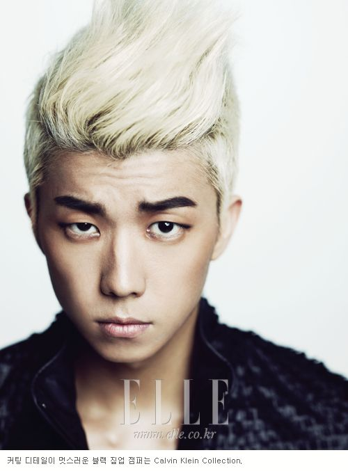 WooYoung!Wooyoung 2Pm, Hair Colors, Magazines Auguste, Jang Wooyoung, Make Magazines, Korean Dramakpop, 2Pm Wooyoung, Elle Korea, Woo Young
