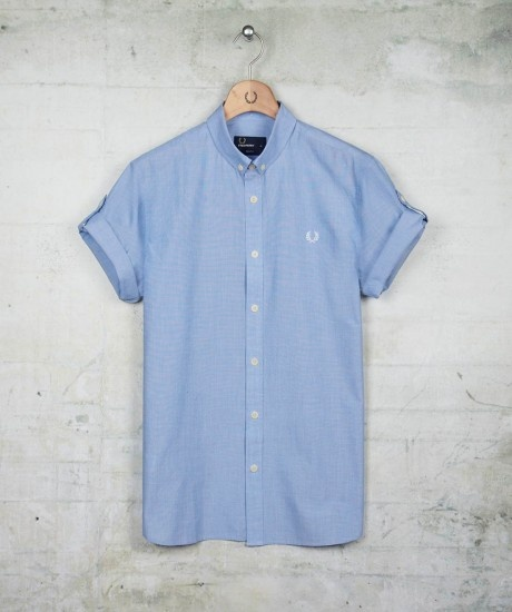 Fred Perry Tipped End On End Shirt