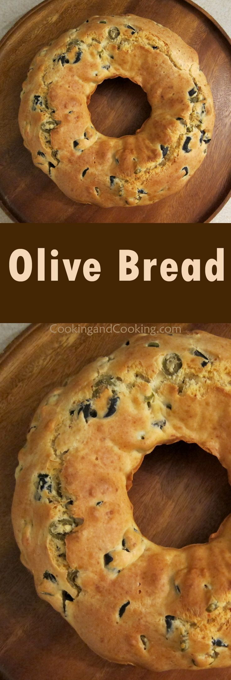 Olive Bread Recipe                                                                                                                                                      More
