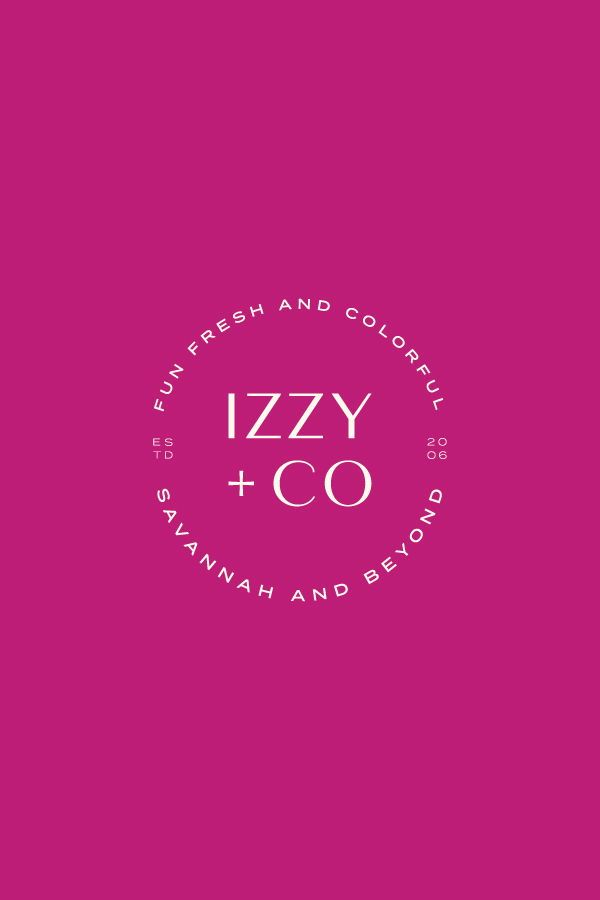This Logo And Branding Was Crafted For Izzy Co A Local Athens Georgia Photographer Iz Branding Website Design Branding Design Logo Boutique Graphic Design