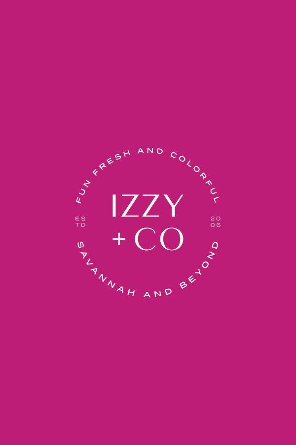 This Logo And Branding Was Crafted For Izzy Co A Local Athens Georgia Photographer Iz Branding Website Design Branding Design Logo Boutique Graphic Design