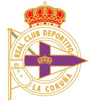 Escudo: Deportivo de La Coruña (Depor),.... ¡y en la curva yo siempre animaré!