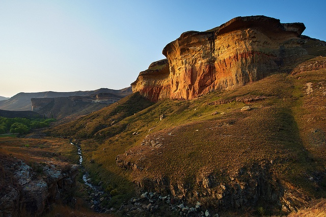 I took a picture almost identical to this one in 2004. Such beautiful country, very near Lesotho.