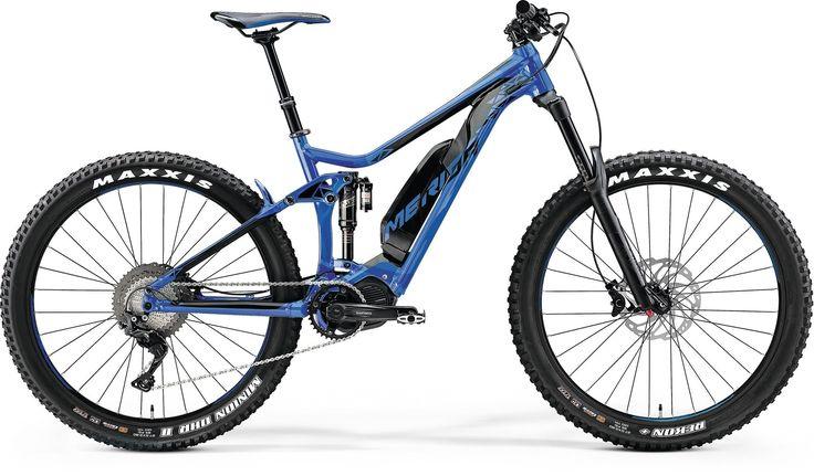 blue/black (E-Bikes - Performance Fullies)