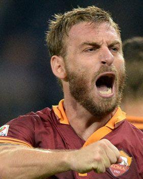 Daniele De Rossi, the future captain of Rome and a true gladiator.
