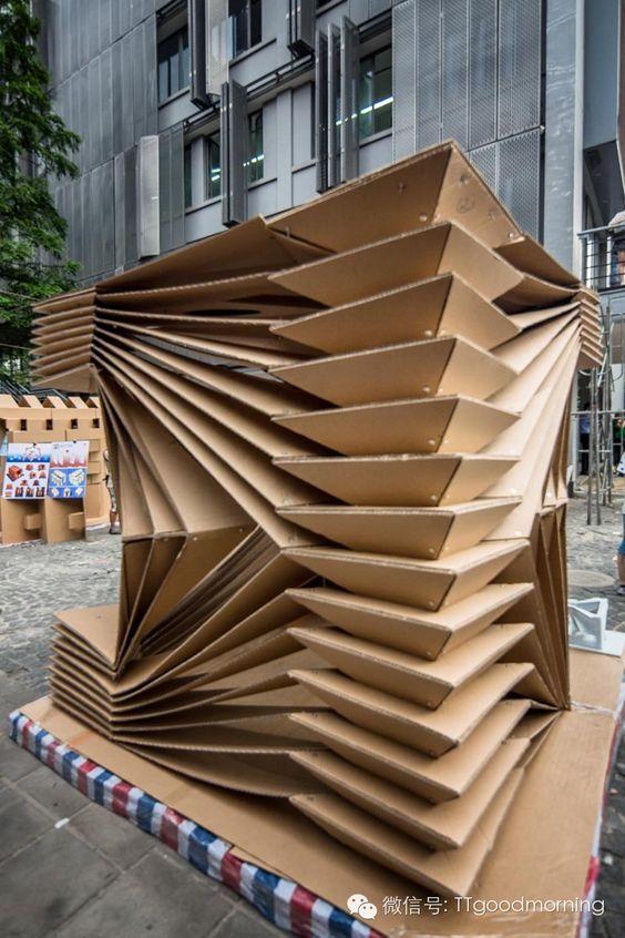 38 best Cardboard Creations images on Pinterest   Cardboard ...