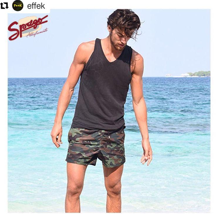 Dalla prossima settimana in negozio!  ✨✨ COLLEZIONE costumi uomo F**K ✨✨  #SpagoAbbigliamento #AbbigliamentoUomo #SpagoUomo #AccessoriUomo #NuoviArrivi #NuovaCollezione #NewCollection #SpringSummer2017 #EffeK #EffeKCollection #BeachWear Ravenna24Ore Abbigliamento Uomo @effek  #Repost @effek with @repostapp ・・・ Il blu cristallino del mare e il verde camouflage del costume F**K ;)⠀ Grazie a @simonesusinna per averci scelto per la sua avventura sull' @isoladeifamosi Disponibile nei prossimi…