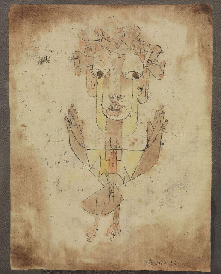 """Le Centre Pompidou consacre une exposition à Paul Klee, """"l'ange du bizarre"""". où l'on découvre une oeuvre aux références et mystères multiples."""