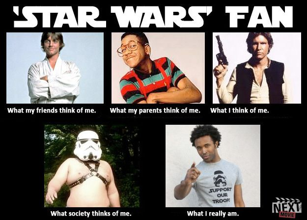 What The World Thinks Of Me Me Star Wars Edition