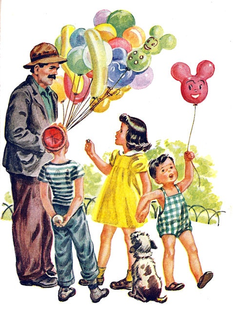 vintage party scene   Yesterday when I was a kid   Vintage artwork