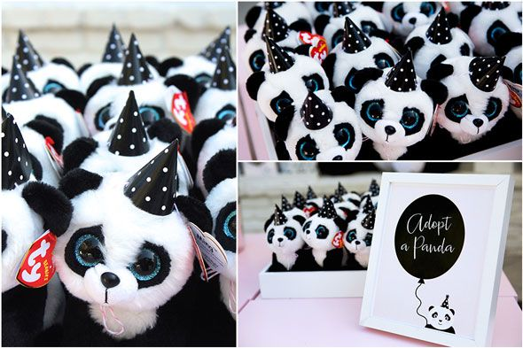 Party Like a Panda Birthday Party Adopt a Panda via Pretty My Party