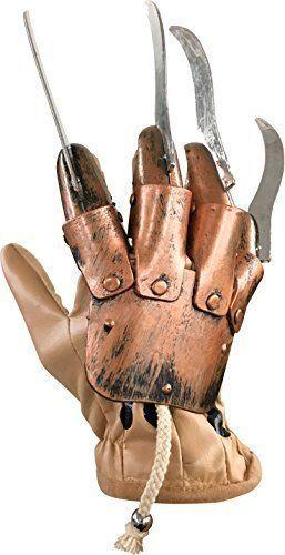 Halloween Costume Freddy Krueger Glove One Size Adult Scary Nightmare Elm #Rubies