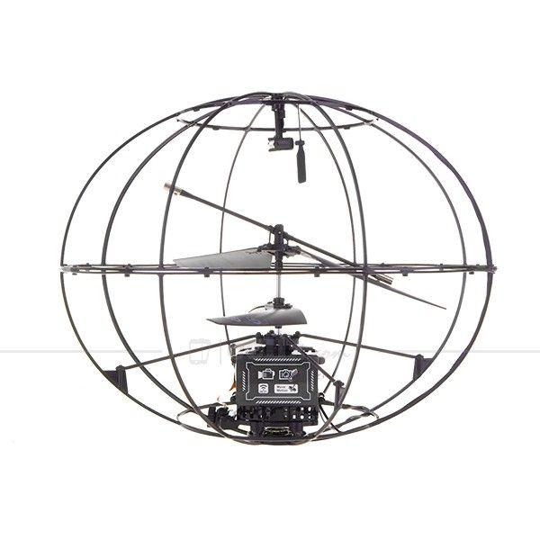 Wireless Spy Robotic UFO - App Control - Black #wireless #spy #robotic #ufo #toys #cellz
