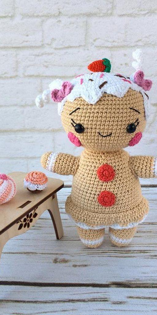 Cute Crochet Patterns Cute Crochet Animals Reindeer Pinterest ... | 1024x512