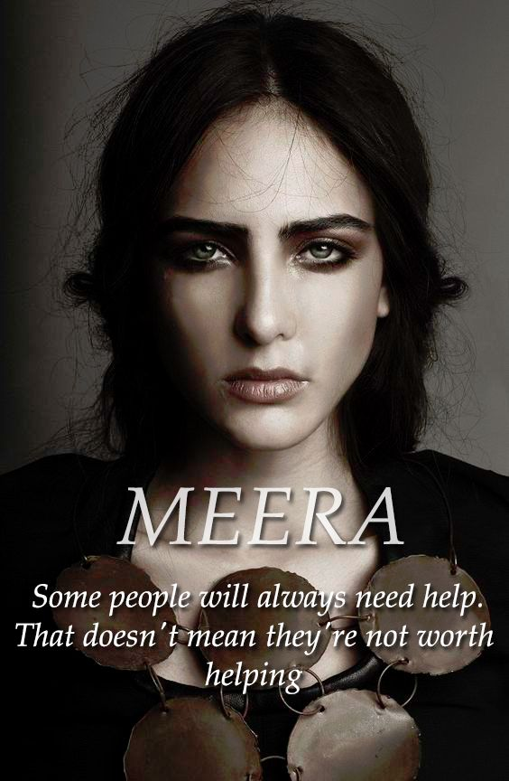 Meera Reed More >>>> Technically she's like Brienne, she is a Lady by right