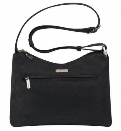 Travelon Classic Shoulder Bag Black | Tra42222blk | At Luggage Store