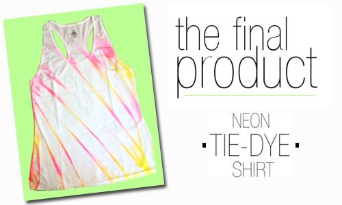 How To Tie Dye With Fabric Spray Paint