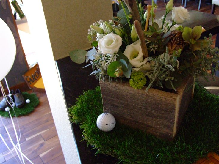 Golf Themed Party Decorating Ideas Part - 25: Golf Themed Party - Sweetpea And Ivy. Golf PartyTable DecorationsThemed ...