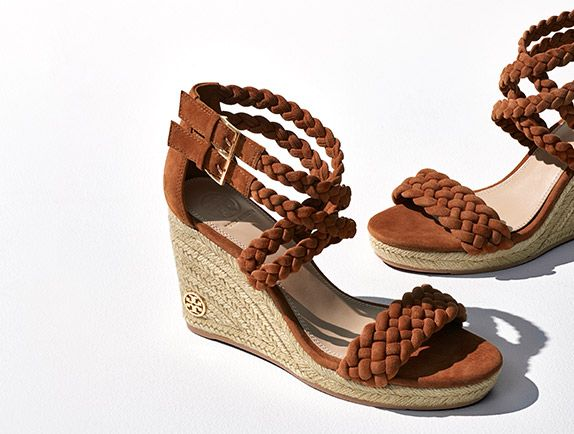 Visit Tory Burch to shop for Bailey Ankle-strap Wedge Espadrille and more  Womens View All. Find designer shoes, handbags, clothing & more of this  season's ...