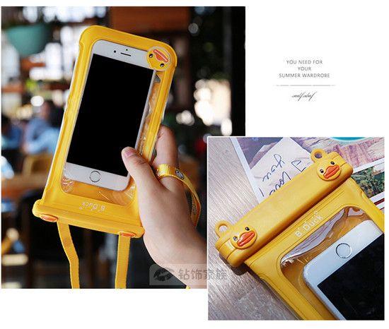 Cartoon Mickey und Hello Kitty Handy Wasserdichte Tasche für alle Smarttelephone