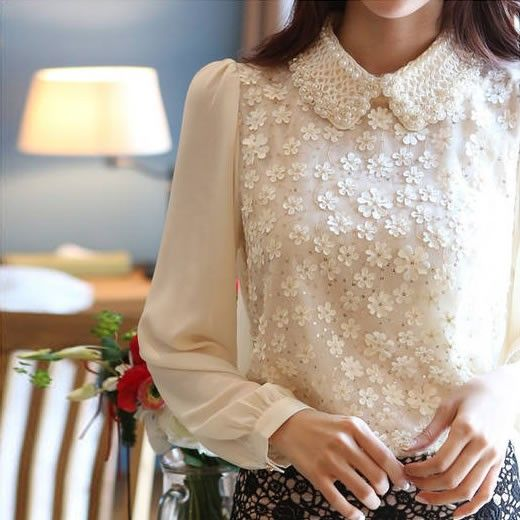 Camisa Feminina Flowers