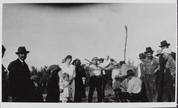 Roasting Bacon 1920's | saskhistoryonline.ca
