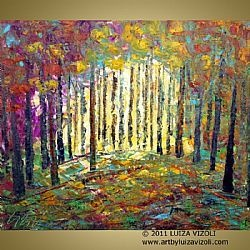 """Summer Woods"" by Luiza Vizoli. Lovely!"