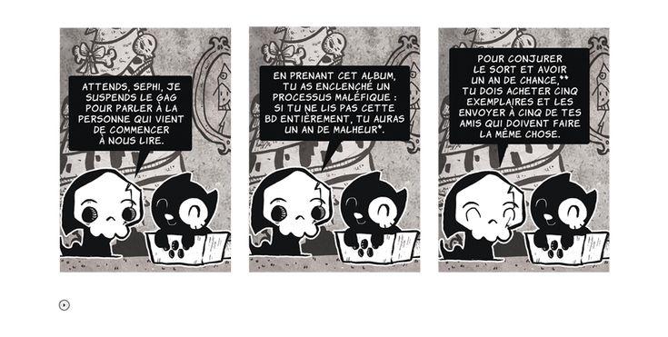 La petite mort, la nouvelle bande-dessinée de Davy Mourier.
